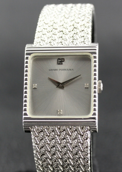 BRAND NEW LADY GIRARD PERREGAUX SILVER WATCH