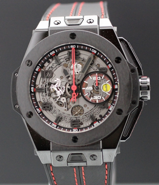 LIKE NEW Hublot Big Bang Ferrari 45mm Limited Edition / 401.CX.0123.VR