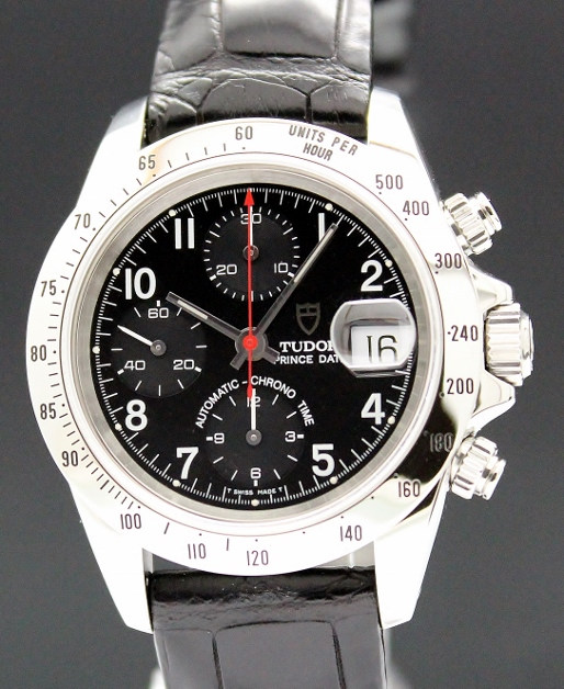 A STAINLESS STEEL TUDOR PRINCE DATE CHRONOGRAPH (DAYTONA VERSION) / 79280P