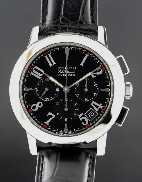 LIKE NEW Zenith El Primero Port Royal Automatic Watch