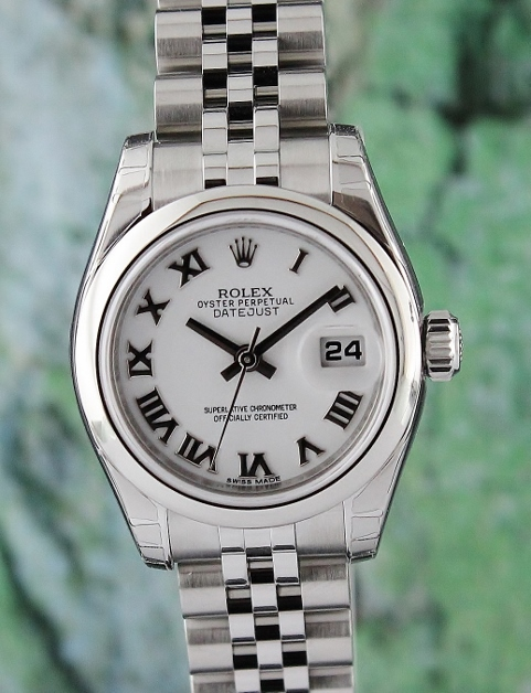NEW UNWORN ROLEX LADY OYSTER PERPETUAL DATEJUST - 179160