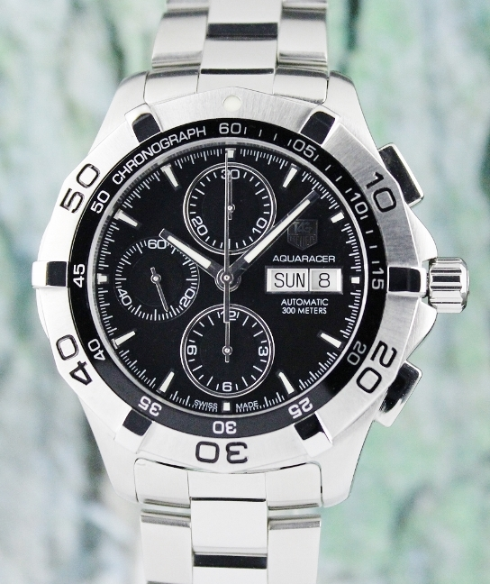 TAG HEUER MEN SIZE CHRONOGRAPH AUTOMATIC WATCH / CAF2010