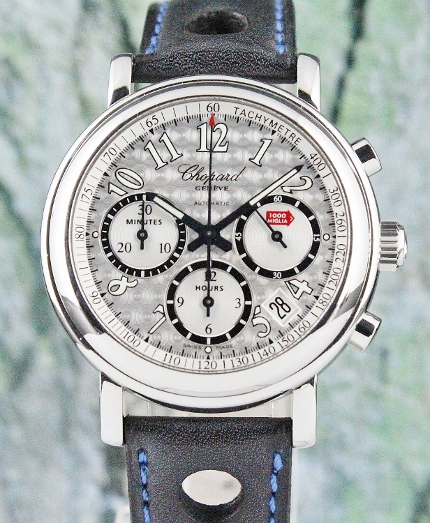 Chopard 39MM Mille Miglia Chronograph Stainless Steel Automatic Watch / 8331