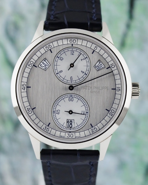 Patek Philippe Complications Annual Calendar 18K White Gold / 5235G-001