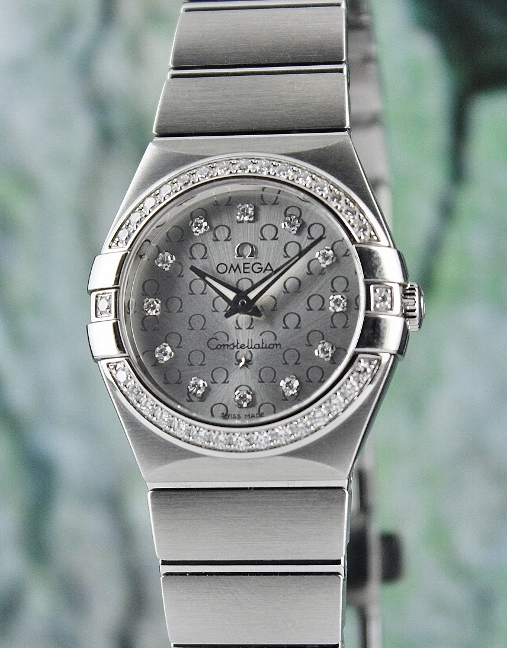 Omega Constellation 27mm Lady Watch / 123.15.27.60.52.001