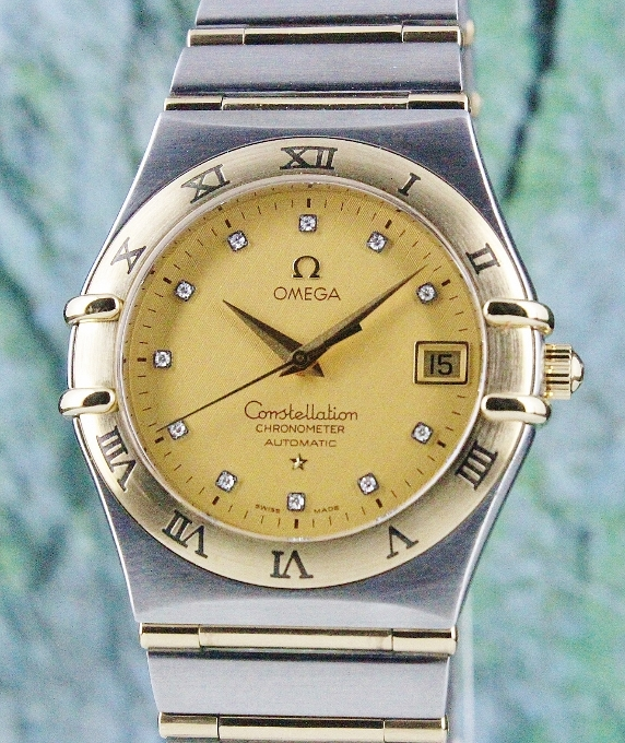 OMEGA MEN SIZE AUTOMATIC CONSTELLATION WATCH / 12021500