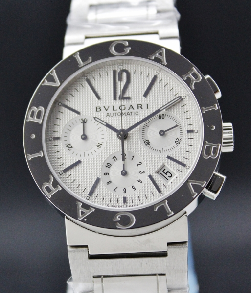 BRAND NEW BVLGARI STEEL MEN CHRONOGRAPH WATCH