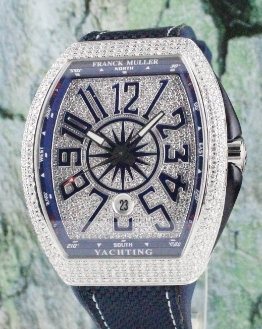 UNWORN NEW FRANCK MULLER VANGUARD YACHTING COLLECTION / V 45 SC DT