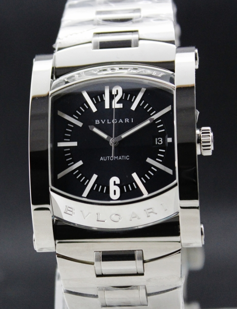 BRAND NEW BVLGARI STAINLESS STEEL ASSIOMA WATCH