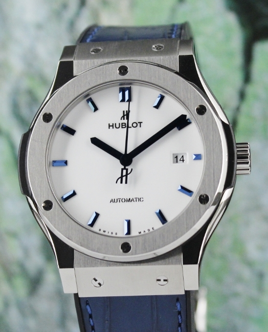 A HUBLOT 42MM CLASSIC FUSION JAPAN EDITION AUTOMATIC WATCH / 542.NX.2210.LR.JPN17