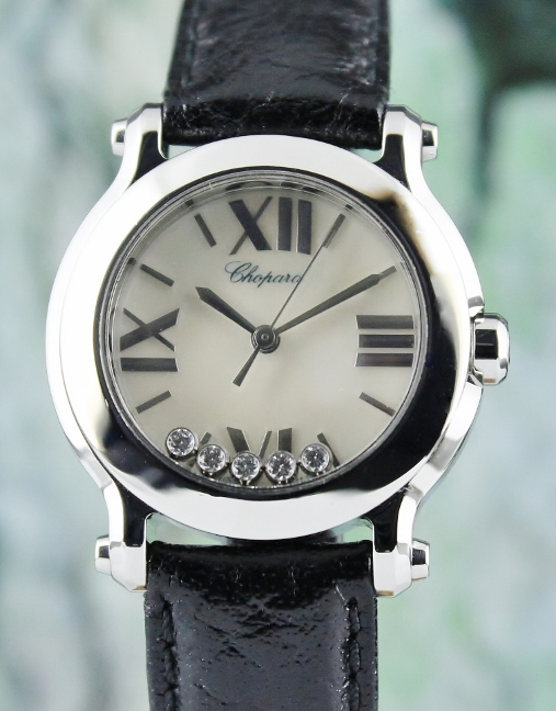 CHOPARD STAINLESS STEEL LADY SIZE HAPPY SPORT / MOP / 8509