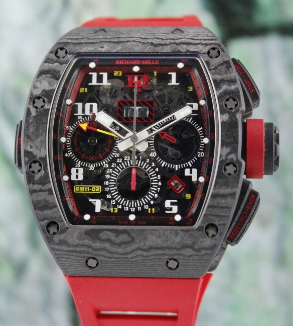 UNWORN RM11-02 GMT NTPT FLYBACK CHRONOGRAPH 1ST BOUTIQUE 12TH ANNIVERSARY EDITION 30 PCS