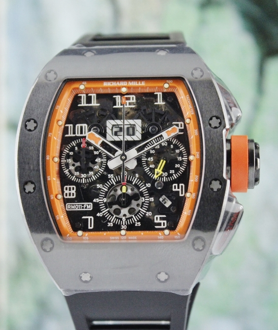 Richard Mille Felipe Massa Orange Americas RM011 Limited Edition 30 Pieces - Click Image to Close