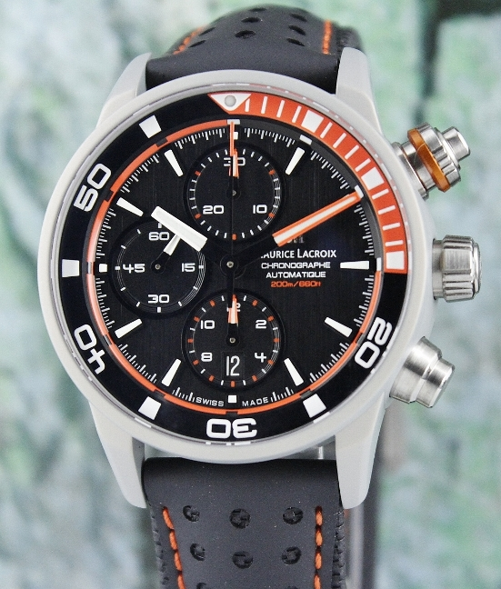 UNWORN NEW MAURICE LACROIX Pontos S Extreme Chronograph Automatic Watch / PT6028