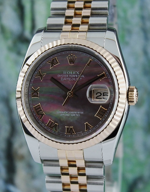 LIKE NEW ROLEX MEN OYSTER PERPETUAL DATEJUST / 116231