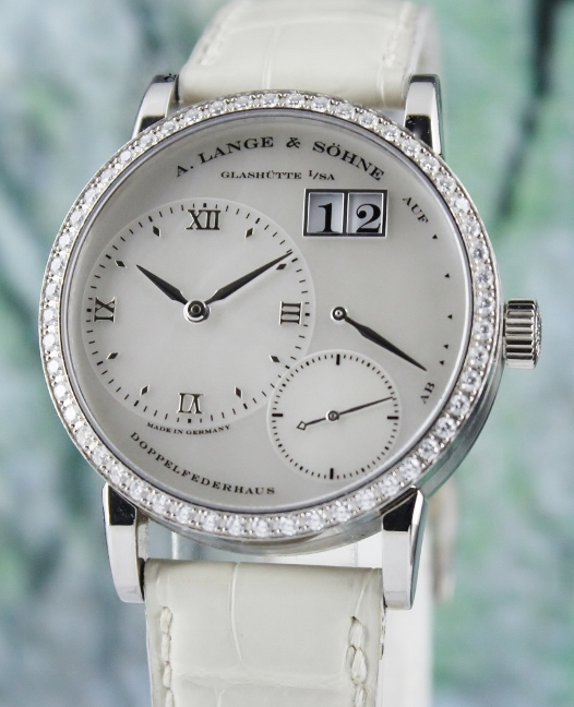 A. Lange & Sohne 18K White Gold Little Lange 1 Soiree / 813.029