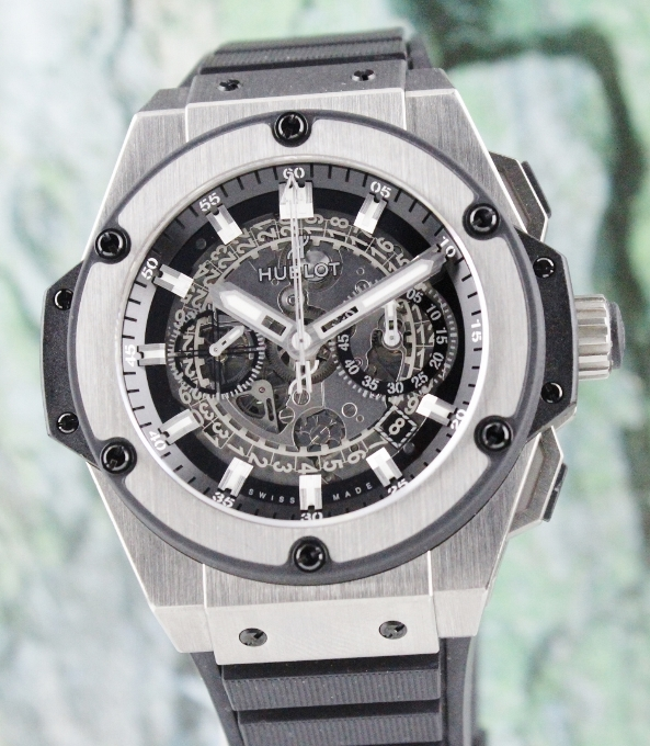 LIKE NEW Hublot Big Bang King Power Unico In Titanium / 701.NX.0170.RX