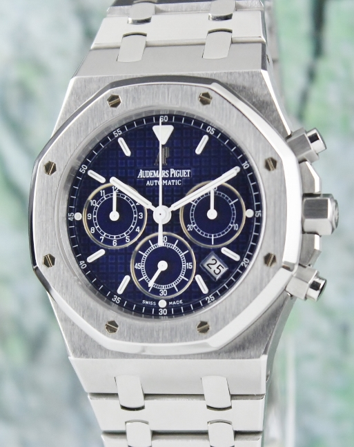 AP STAINLESS STEEL 39MM ROYAL OAK CHRONOGRAPH / 25860ST.00.1110ST.03