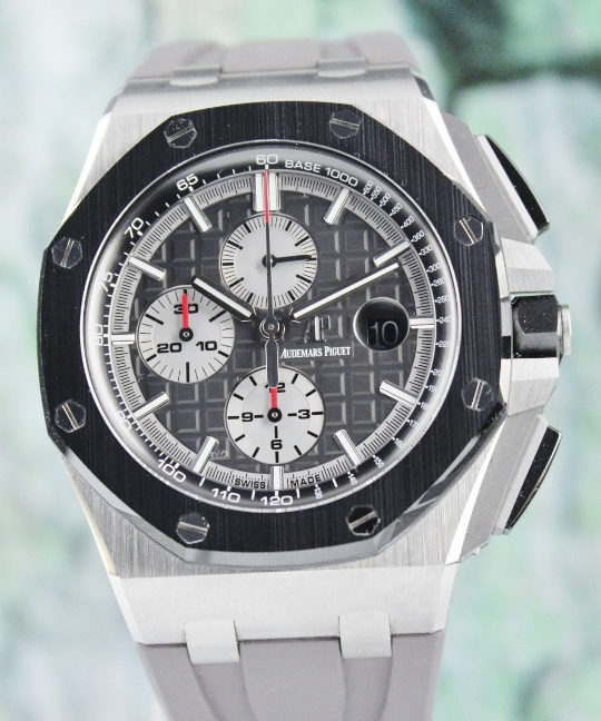 LIKE NEW AP NOVELTY OFF SHORE CHRONOGRAPH / 26401IO.OO.A004CA.01