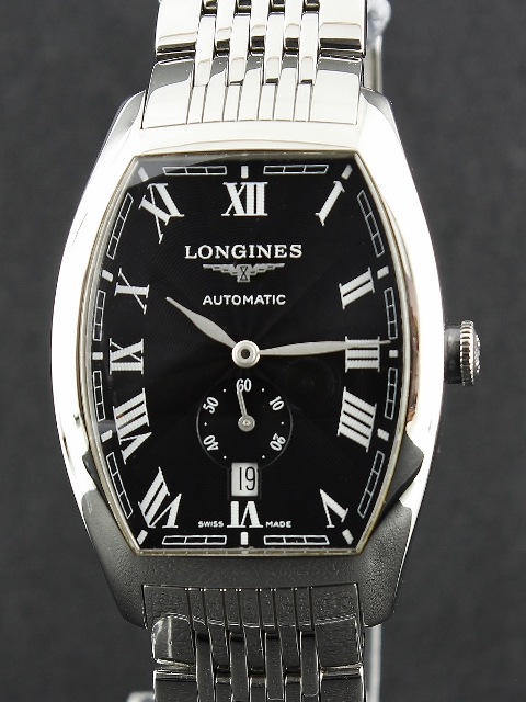 A LONGINES STAINLESS STEEL AUTOMATIC WATCH / L2.642.2