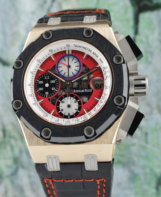 Like New Audemars Piguet Royal Oak Offshore Barrichello III / 26284RO