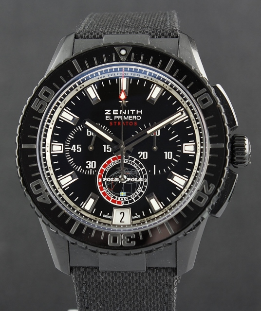 Zenith Stratos Flyback Chronograph Automatic Limited 500 Pieces / 24.2062.405