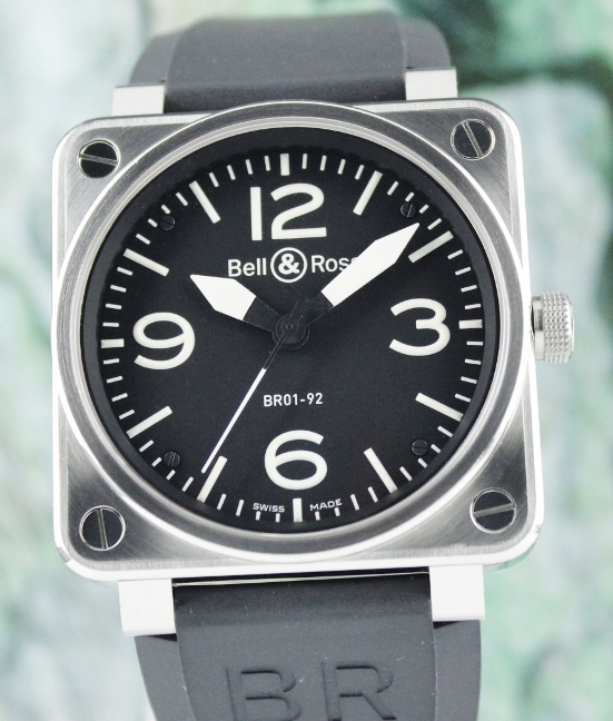 Bell & Ross Aviation Heritage Stainless Steel 46mm / BR01-92