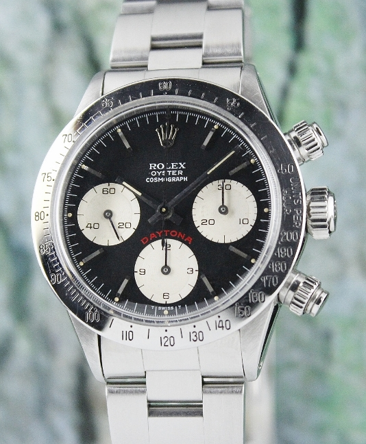 100% ORIGINAL ROLEX VINTAGE COSMOGRAPH BIG RED DAYTONA / 6263