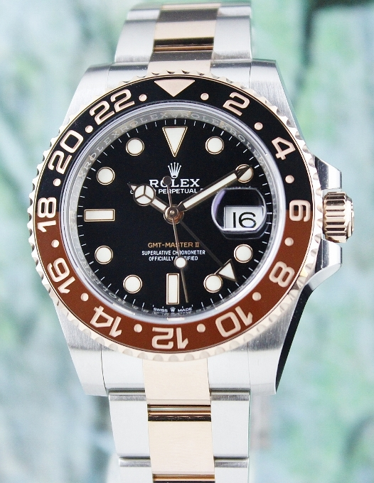 UNPOLISHED ROLEX GMT MASTER II PERPETUAL DATE / 126711CHNR