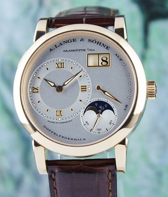 A. Lange & Sohne Lange 1 Moon Phase 18K Pink Gold Manual Winding / 109.032