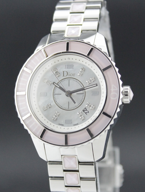 CHRISTIAN DIOR MOP DIAMOND LADY WATCH
