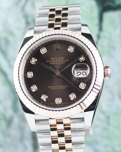 LIKE NEW UNPOLISHED ROLEX 41MM OYSTER PERPETUAL DATEJUST / 126331