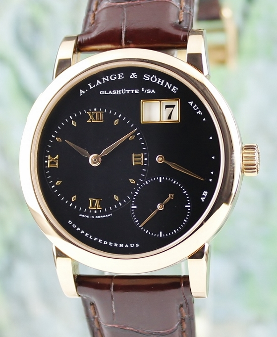 A. Lange & Sohne Lange 1 18K Rose Gold Manual Winding Watch / 101.031