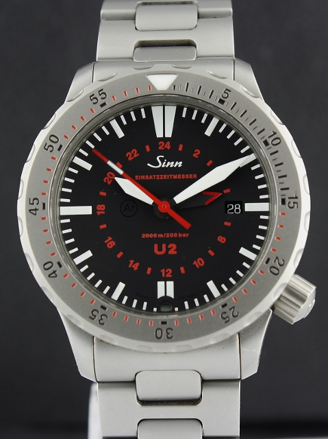 A SINN U2 DIVER'S WATCH GMT / 1120.1127