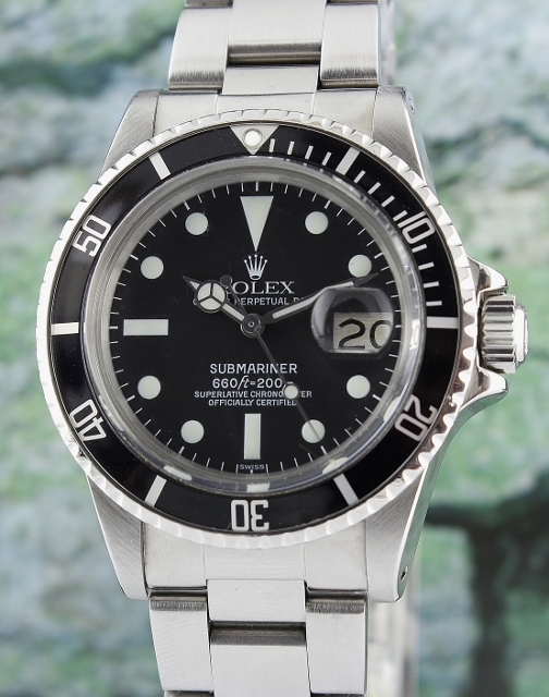 "A ROLEX VINTAGE OYSTER PERPETUAL ""SUBMARINER"" - 1680"