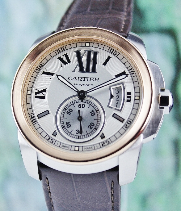 CARTIER CALIBRE 42mm AUTOMATIC WATCH / 3389