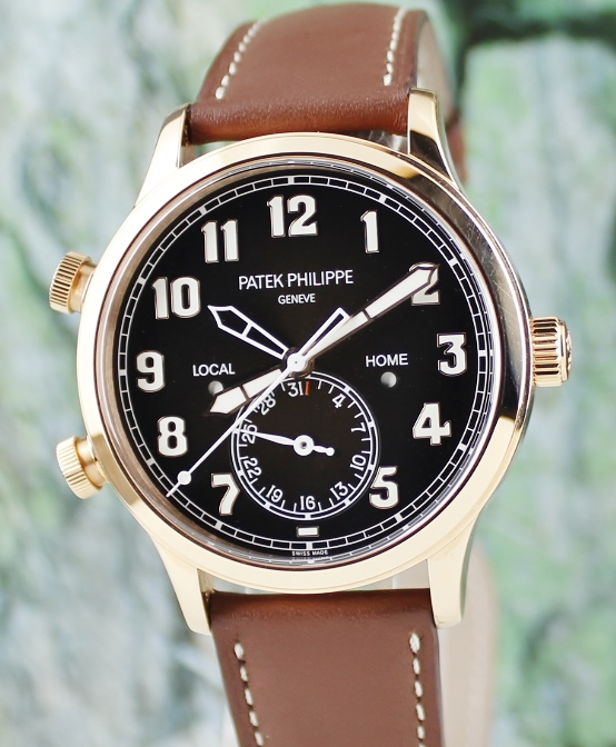 Unpolished Patek Philippe Calatrava Pilot Travel Time / 5524R-001
