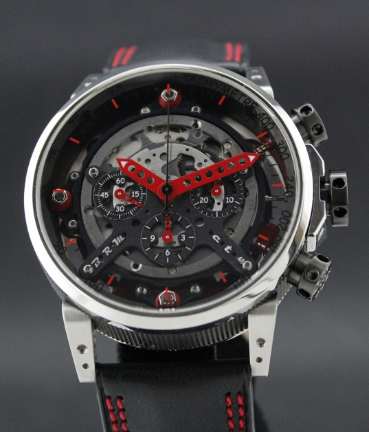 A BRM CT- 48 AUTOMATIC CHRONOGRAPH WATCH