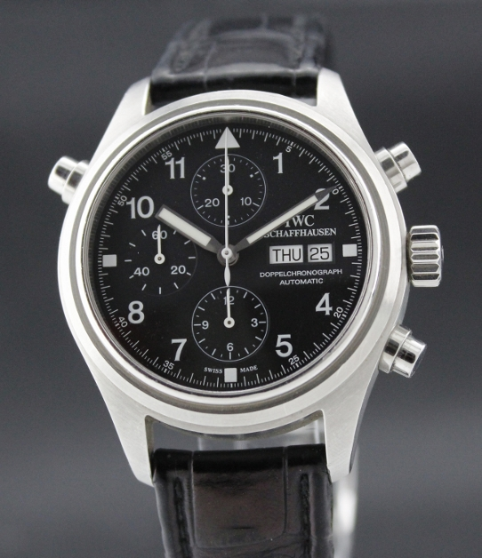 "AN IWC Doppel Chronograph ""Rattrapante"""