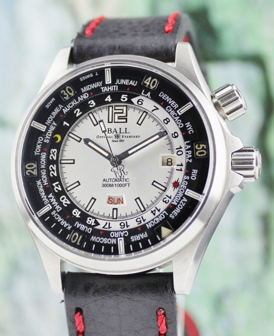 Ball Engineer Master II Diver Worldtimer Automatic Watch / DG2022A