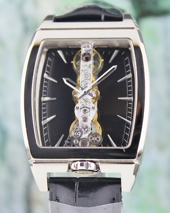 Corum Golden Bridge 18K White Gold / 113.150.59.0001 FN01