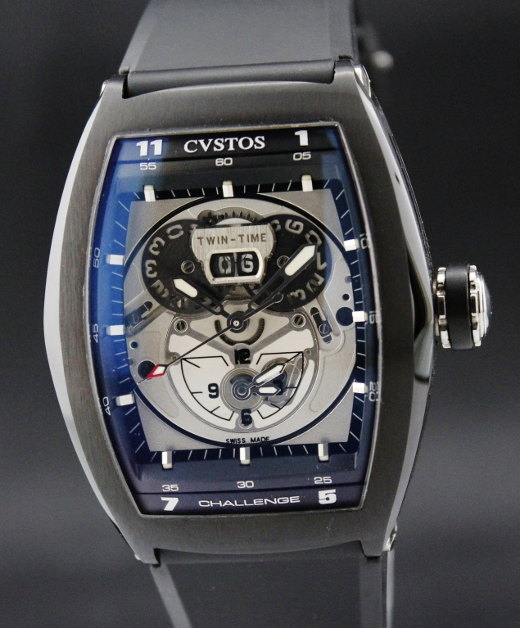 LIKE NEW CVSTOS PVD STEEL CHALLENGE TWIN TIME