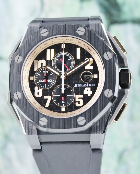 Audemars Piguet Arnold Schwarzenegger The Legacy Limited Edition / 26378IO.OO.A001KE.01
