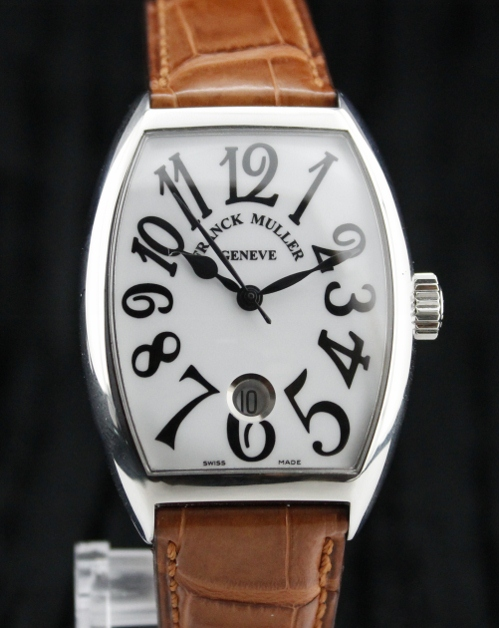 BRAND NEW FRANCK MULLER STEEL AUTOMATIC WATCH / 7851