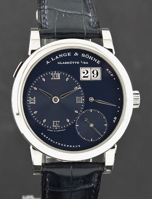 LIKE NEW A. Lange & Sohne Lange 1 White Gold Manual Winding Watch / 101.027