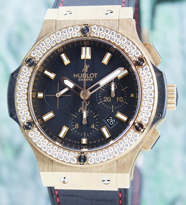 UNPOLISHED HUBLOT BIG BAND 18K ROSE GOLD 44MM / 301.PX.1180.RX.1140