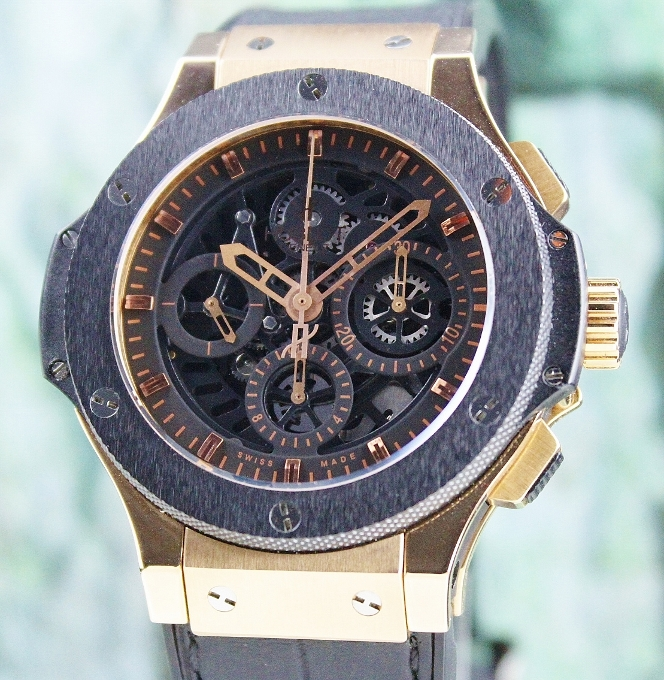 UNPOLISHED HUBLOT BIG BAND 18K ROSE GOLD 44MM LIMITED 500 PIECES / 301.PM.1180.RX