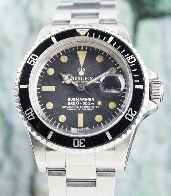 "ROLEX VINTAGE SUBMARINER OYSTER PERPETUAL ""FLAT 4"" / 1680"