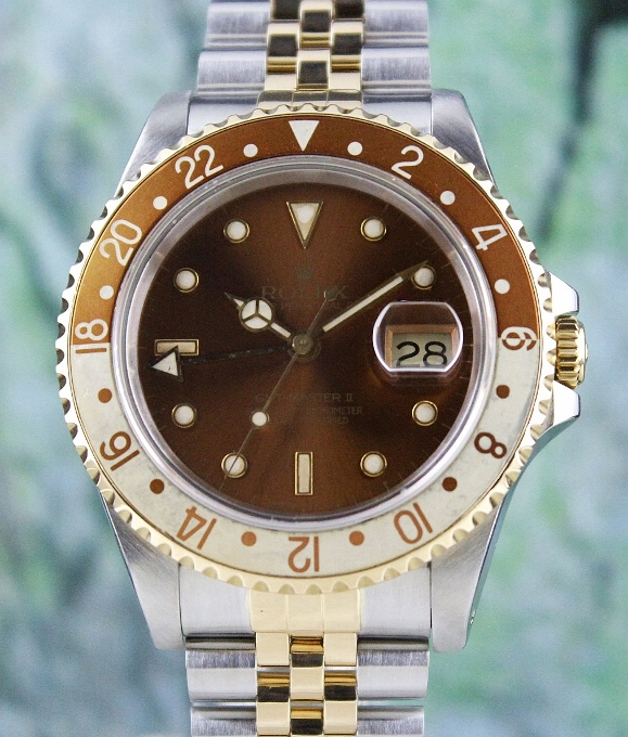 A ROLEX OYSTER PERPETUAL DATE / GMT-MASTER II/ 16713