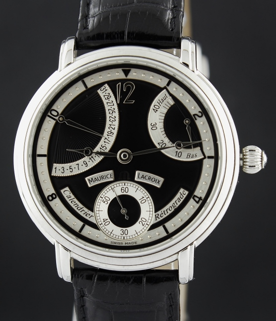 Maurice Lacroix Masterpiece Calendrier Retrograde / MP7068